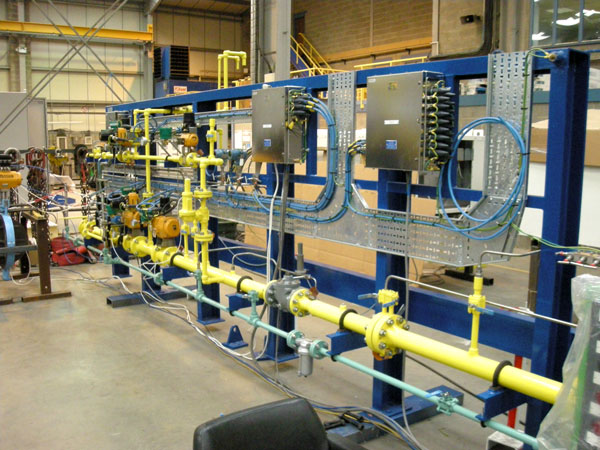 pipework skid system